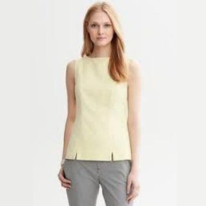 Banana Republic Mad Men Collection Textured Shell